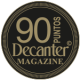 90 puntos, añada 2.016, Decanter Magazine 2.019